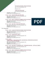 Dockville Timetable 2011