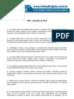 Folha Dirigida - Questões de ética-INSS(WWW.CONCURSEIROSDOBRASIL.NET)