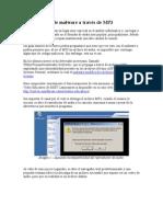 Diseminación de malware a través de MP3