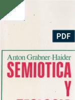 Semiótica y Teología - Anton Grabner