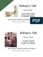 Bishopric Talk Reminders 2009