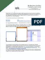 Alaska Stock Settlement Demand Letter