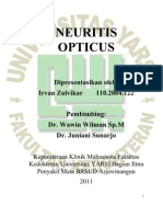 Neuritis Opticus IRVAN