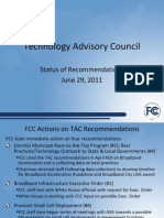 FCC Technology Advisory Council - June 29, 2011