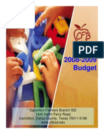 2008-2009 Budget Book