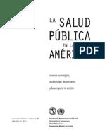 La Salud Pública en Las Américas