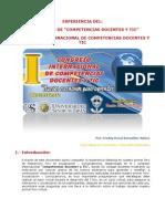 Experiencia del I congreso internacional de competencias docentes y tic
