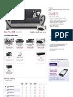 Volani 4 Seater Fabric Sofa _ Dfs _ Think Sofas Think Dfs