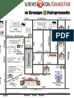 2011 Middletown Grange Fair Map