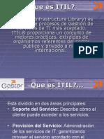 Presentacion GESTAR ITIL