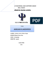 trabajo ABRAM KARDINER