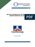 Desempeño sector Cooperativo