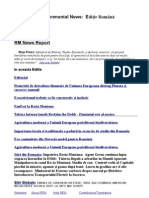 Romanian Environmental News