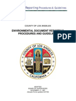 22 Environmental Document Reporting Procedures