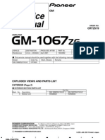 GM 1067 Amplifier