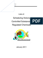 The Orange Book - Lists of Scheduling Actions, Controlled Substances, Regulated Chemicals 2011