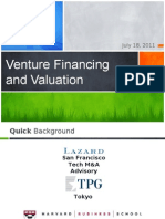 Financing and Valuing Your Startup