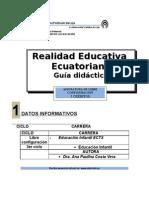 GUIA REALIDAD EDUCATIVA-FORMATO ED. INFANTIL LUCYNORA