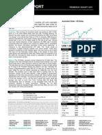 Australian Dollar Outlook 03 August 2011