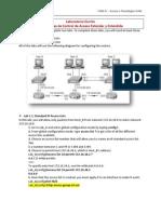 Lab Oratorio Escrito - Listas de Control de Acceso 24 07 2011