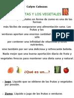 Calym Cabezas Frutas y Verduras