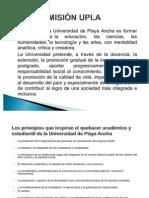 Misión UPLA y FCSOC