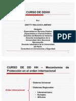 Sistema Internacional de Ddhh