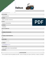 Syllabus Etica, Cultura y Politica