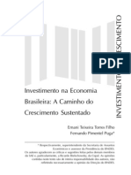 investimento e crescimento