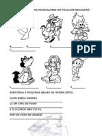 Personagens Folclore e parlenda