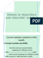 Trends in Pediatrics and Ped Nsg