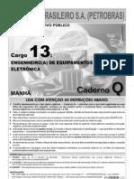 s Petrobras Engenheiro Equipamentos Junior Eletronica Prova
