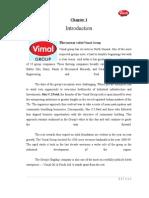 Sip Report on Customer Preferance for Vimal Ice Cream