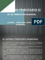 Derecho rio III - Ley de Tributacion Municipal