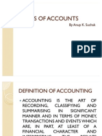 Basics of Accounts