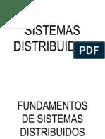 Fundamentos de Los Sistemas Distribuidos