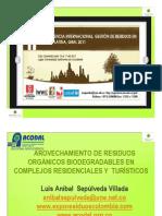 Aprovechamiento Residuos Organicos Biodegradables