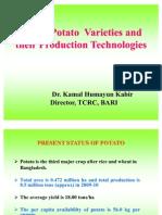 Major Variety and Production Technology of Potato