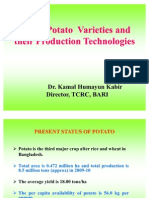 Major Variety and Production Technology of Potato