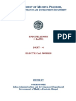 Specifications Part4 Electrical
