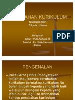 23498149-PERUBAHAN-KURIKULUM