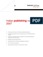 Indian Publishing Market 2007