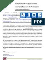 guide de l'accessibilité des ERP - département du Lot