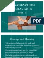 Behavior in an Organization