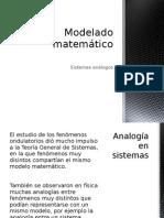 Analogías en el Modelado matemático