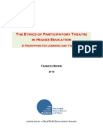 Ethics of Participatory Theatre in High Education
