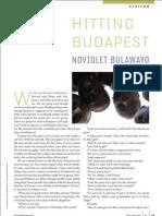 Hitting Budapest