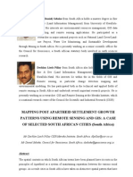 Mapping Post Apartheid Settlement