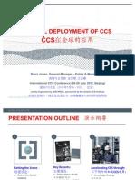 International Conference on CCS: Session 1.3 - Mr. Barry Jones