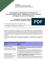Criteris Incedio CTE-DB_SI